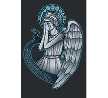 Peek a boo, Angel Photographic Print