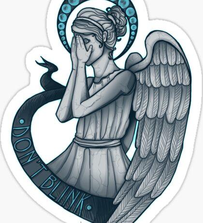 Peek a boo, Angel Sticker