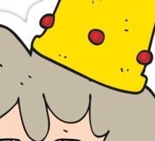 cartoon queen Sticker