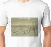 A flotilla of steamships sailing under the flags of several nations - Anon - 1901 Unisex T-Shirt