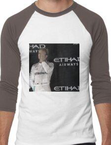 Nico Rosberg Formula 1World Champion 2016 Men's Baseball ¾ T-Shirt