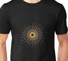 Abstract Crazy Colorful Unisex T-Shirt