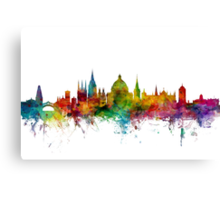 Oxford England Skyline Canvas Print