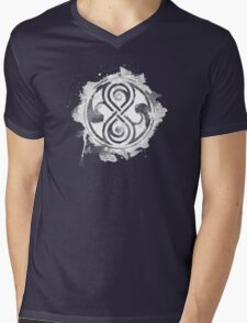 Inked Seal Mens V-Neck T-Shirt