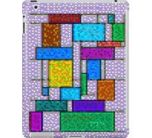 Mondrian Pixelate iPad Case/Skin