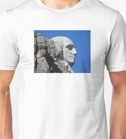 USA: Mt Rushmore George Washington Unisex T-Shirt