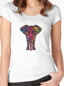 Everyone is unique !! Women's Fitted Scoop T-Shirt