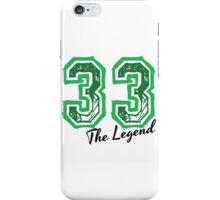 The Legend 33 design iPhone Case/Skin