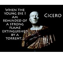 When The Young Die - Cicero Photographic Print