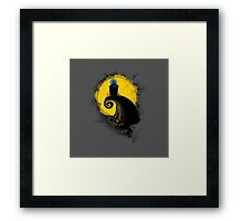 The nightmare before Gallifrey Framed Print