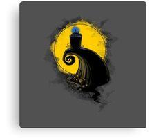 The nightmare before Gallifrey Canvas Print