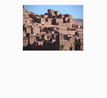 Morocco, a very old Sahara Desert Village Scene Unisex T-Shirt