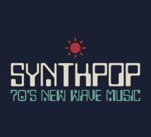 Vintage 70's Synthpop Kids Tee