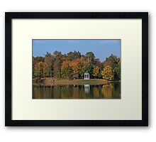 Autumn Park Framed Print