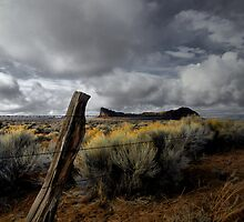 Just To Touch The Past ~ Fort Rock ~ by Charles & Patricia   Harkins ~ Picture Oregon