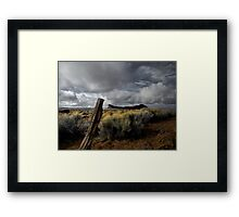 Just To Touch The Past ~ Fort Rock ~ Framed Print