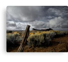 Just To Touch The Past ~ Fort Rock ~ Canvas Print