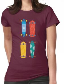 Skateboards Womens Fitted T-Shirt