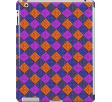 More Like Pixelate Tartan #2 iPad Case/Skin