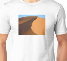 Morocco, Climbing a Sahara Desert Dune Unisex T-Shirt