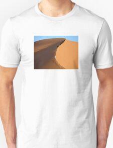 Morocco, Climbing a Sahara Desert Dune T-Shirt