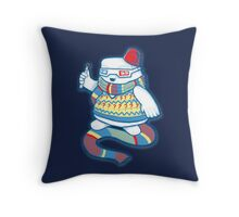 Doctor Adipose Throw Pillow
