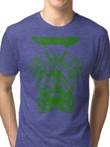 Electric Wizard - Baphomet (Green) Tri-blend T-Shirt