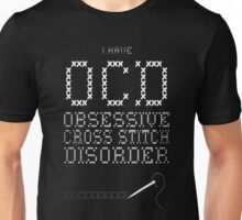 Obsessive Cross Stitch T-Shirt Unisex T-Shirt