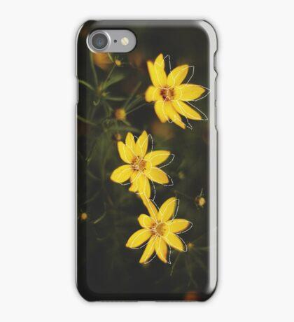 Blueprint of a Flower iPhone Case/Skin