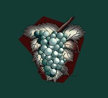 Grapes Illustrated Differently by YoPedro