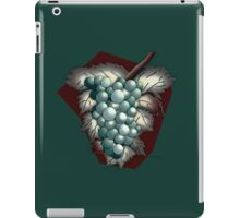 Grapes Illustrated Differently iPad Case/Skin