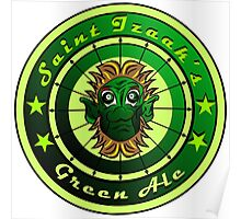 Saint Izaak's Green Ale Poster