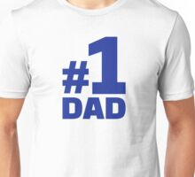 Number no. 1 Dad Unisex T-Shirt