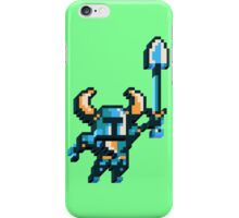 Shovel knight by triangles iPhone Case/Skin