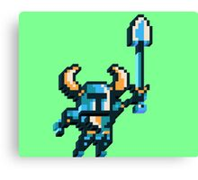 Shovel knight by triangles Canvas Print