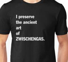 Zwischengas T-shirt. Limited edition design! Unisex T-Shirt