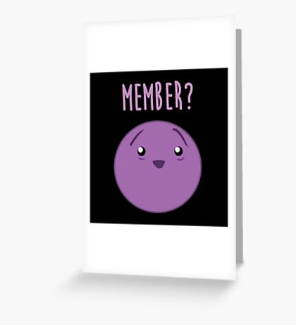 Member Berries : Member? Berry Southpark Fanart Print Greeting Card
