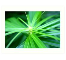 Green is good. Art Print