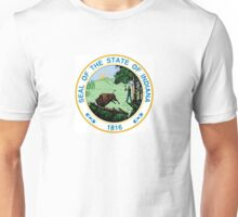 Indiana seal Unisex T-Shirt