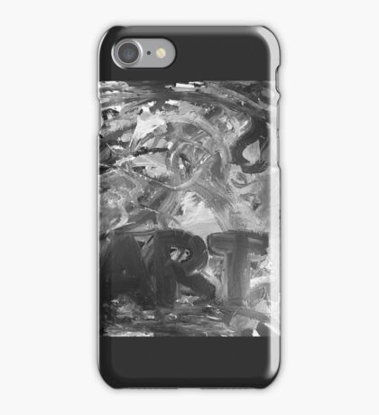 ART bw iPhone Case/Skin
