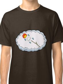 cartoon toasted marshmallow process Classic T-Shirt