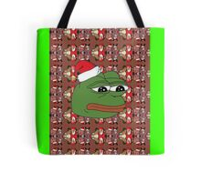 Christmas Pepe Tote Bag