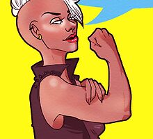 Storm The Riveter by MikaMurha