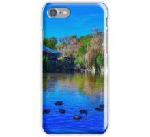 Duck Pond at Alligator Adventure iPhone Case/Skin