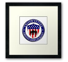 United States Protected Civilian Framed Print