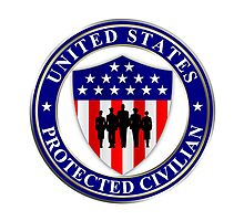 United States Protected Civilian Photographic Print
