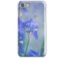Painted Blue Irises  iPhone Case/Skin