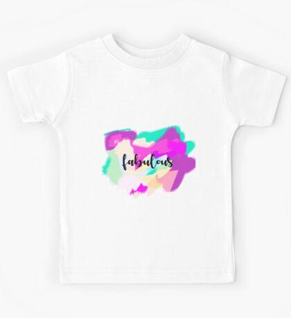 tee-graphic fabulous Kids Tee