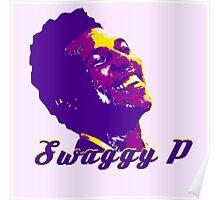 Swaggy P Stencil Design Poster