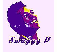 Swaggy P Stencil Design Photographic Print